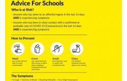 Coronavirus COVID-19 - HSE Advice for Schools